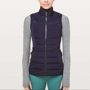 New Lululemon Down For It All Vest Midnight Navy 0